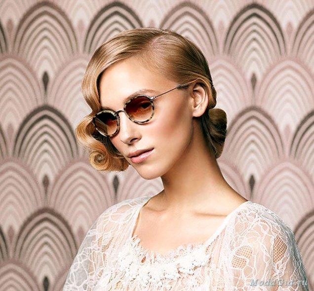 Сонцезахисні окуляри з черепаховою оправою у стилі 1930-х рр. (зі сайту http://modagid.ru/articles/2386)