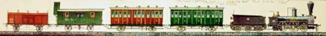 Макет паротягу «Ярослав» авторства Аркадія Орєхова (джерело фото http://zaxid.net)