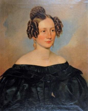 """Алоїзій Рейхан """"Портрет Маріанни Райс"""" 1835"""