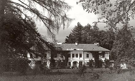 Палац Лянцкоронських в Комарно. Вигляд до 1939 року