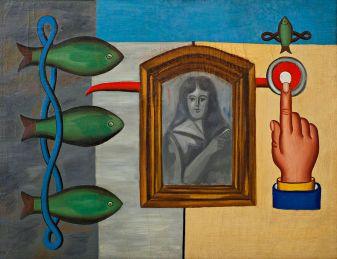 Генріх Штренг (Марк Влодарський), Риби і портрет, 1928р.