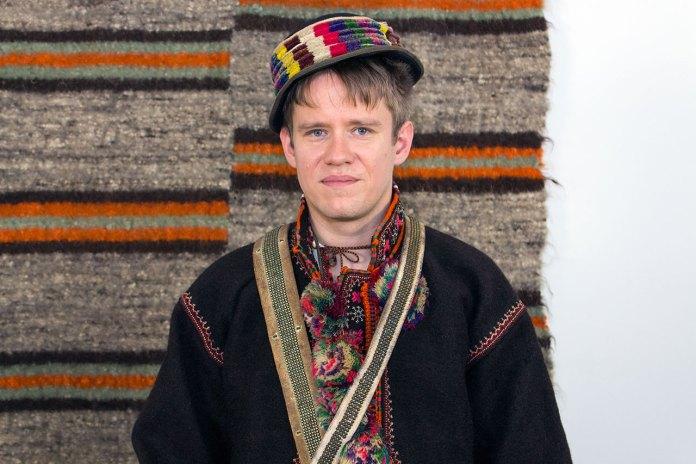 Гуцульське чоловіче народне вбрання Косівського р-ну першої третини ХХ ст.