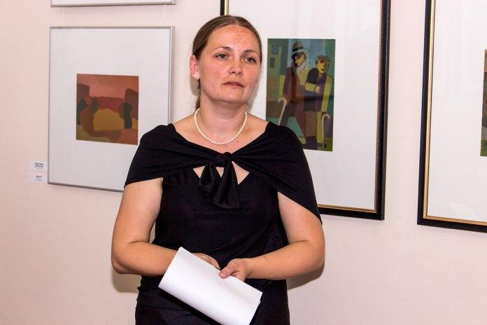 Завідувач художньо-меморіальним музеєм Леопольда Левицького Оксана Жмурко