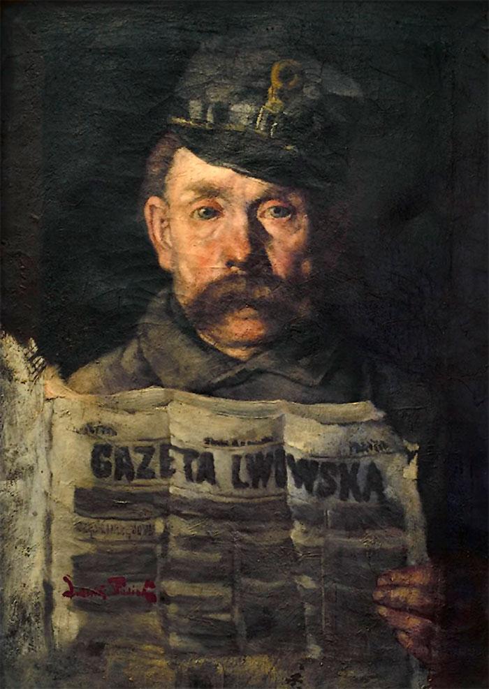 Поштмейстер. Людвік Стасяк, 1924