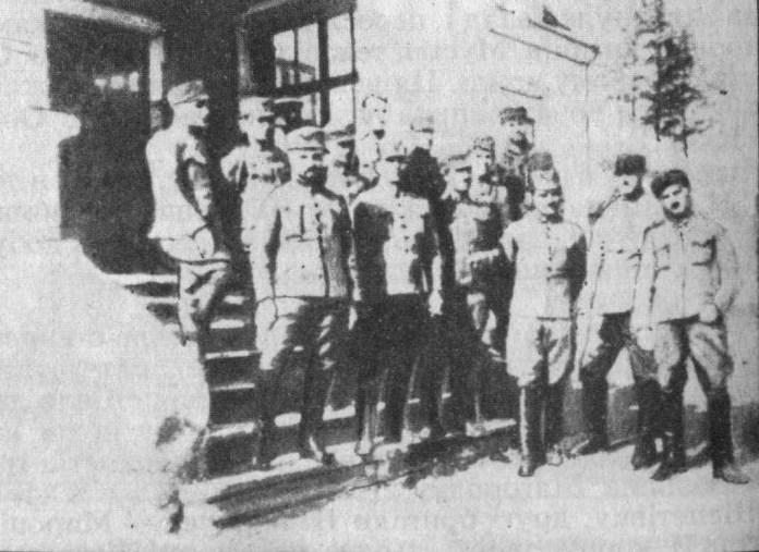 Офіцери 1-ої бригади УСС