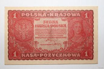 1 польська марка 1919 року
