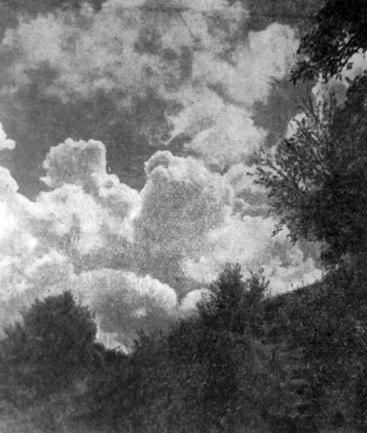 Юліан Дорош. Хмари, поч. 1930-х рр. (Світло й Тінь. – 1935. – Ч. 6)