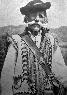 Юліан Дорош. Гуцул, кін. 1930-х рр. (Світло й Тінь. – 1939. – Ч. 7)
