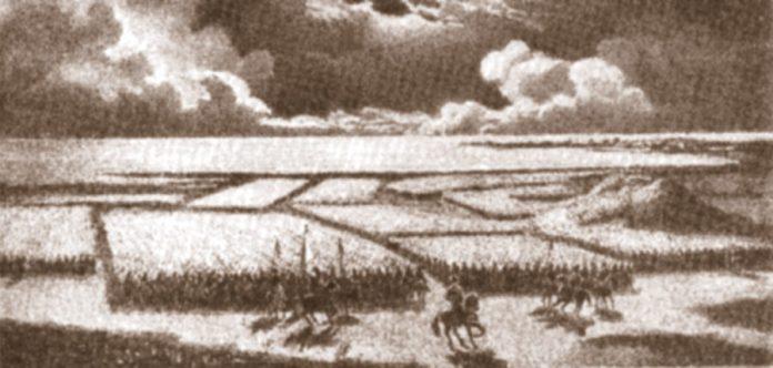 Зображення козацького війська під час походу. Фото з history-poltava.org.ua