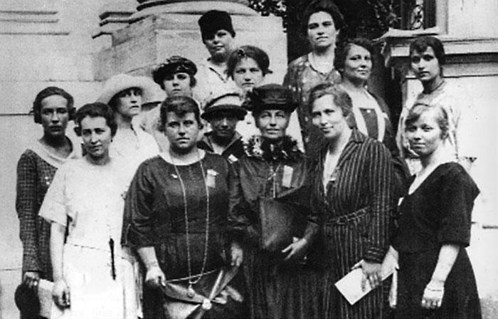 Учасниці українського жіночого конгресу у Відні. 1921 рік
