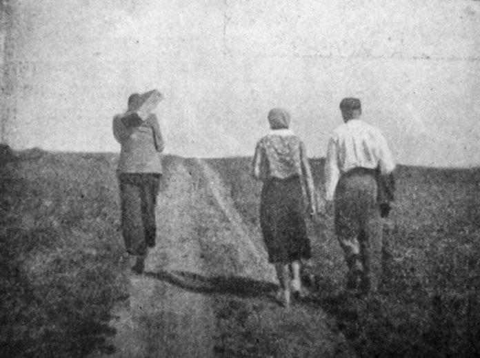 Юліан Дорош. У дорогу, поч. 1930-х рр. (Світло й Тінь. – 1935. – Ч. 6)