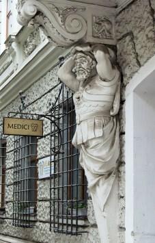 Л. Марконі. Атланти (вул. Гоголя, 8). Фото: Ксенія Янко