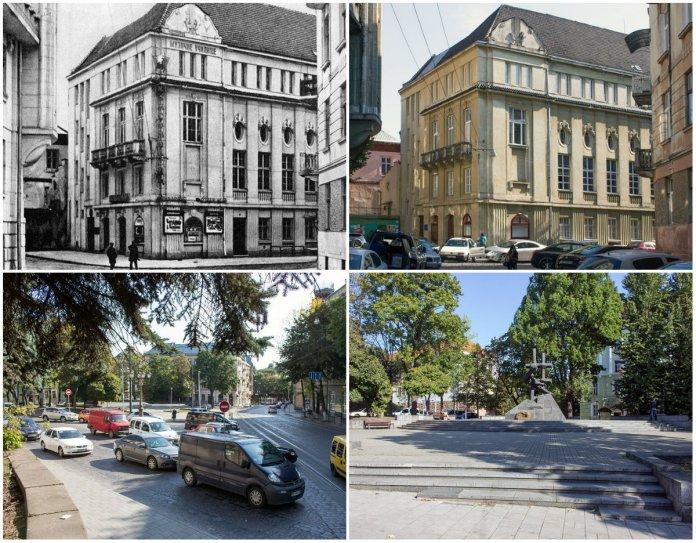 Площа Шашкевича, або де у Львові була одна з найперших бензоколонок