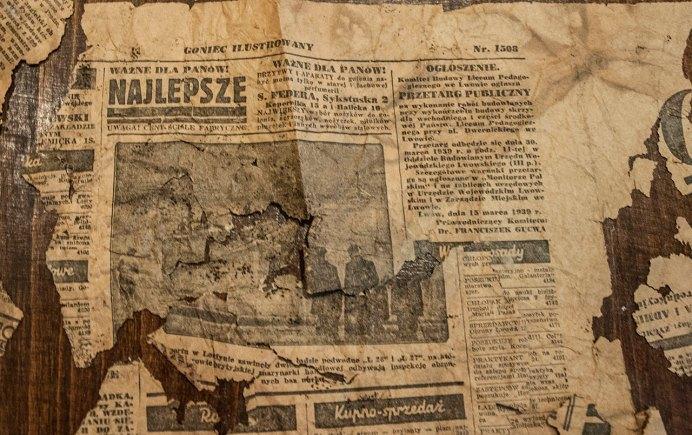 Польська газета Goniec ilustrowany, № 18, березень 1939 року. Фото Мирослава Ляхович