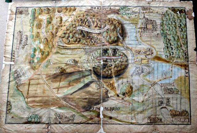 Карта 1744року