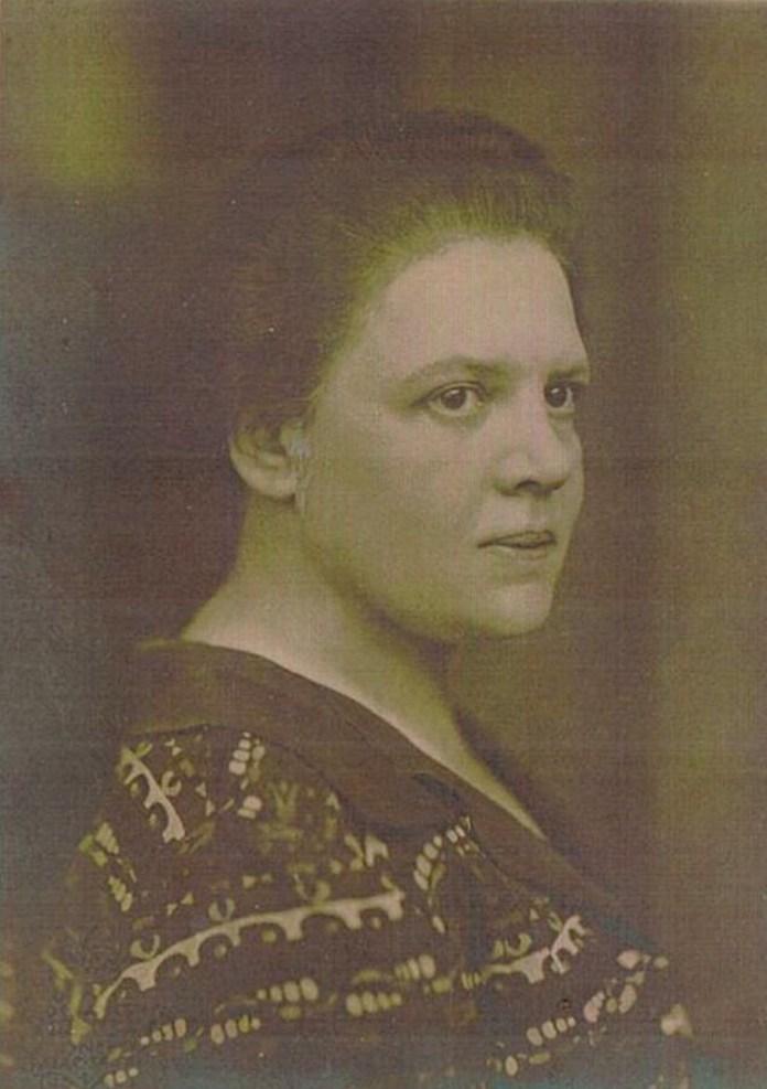 Фото Люни Дрекслер у 1920-х роках