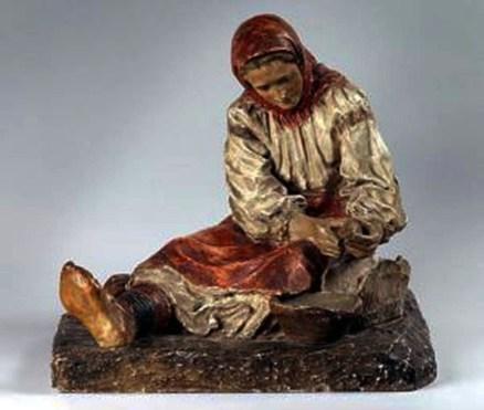 Скульптура «Гуцулка»