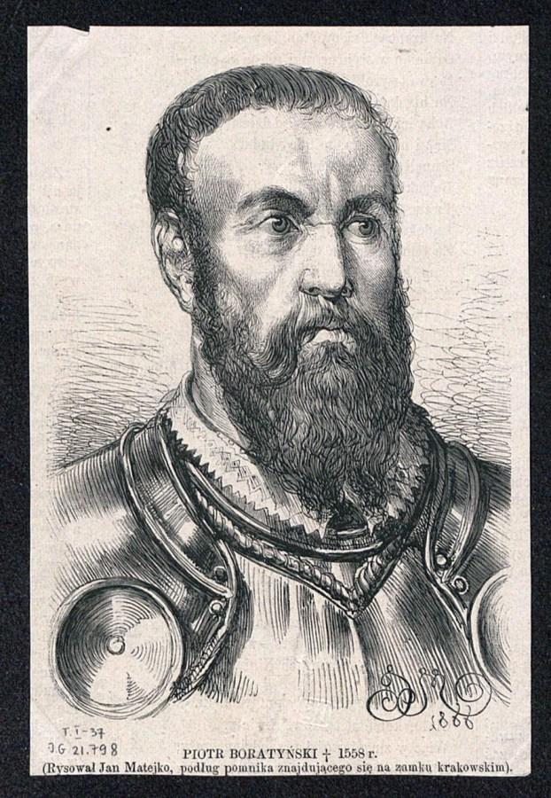Петро Боратинський (рис. Яна Матейка)