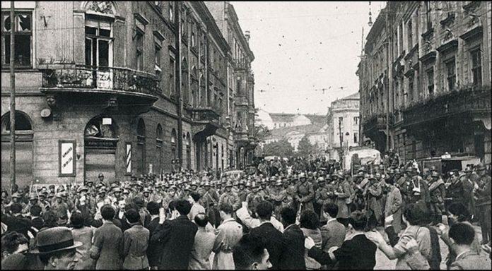 Красноармійці у Львові, вересень 1939 р.