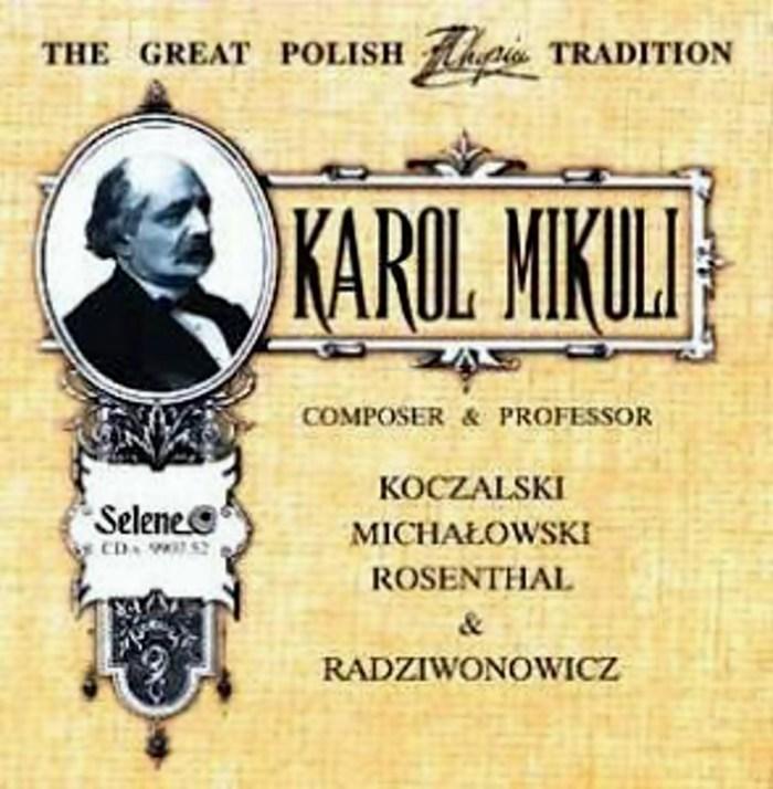 Обкладинка диску із музикою Карла Мікулі. Зліва вгорі – його фото