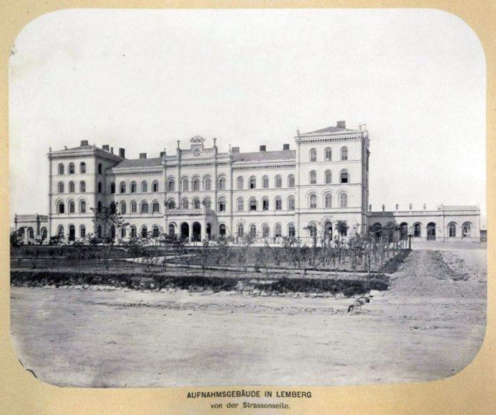 Чернівецький двірець у Львові (1868)