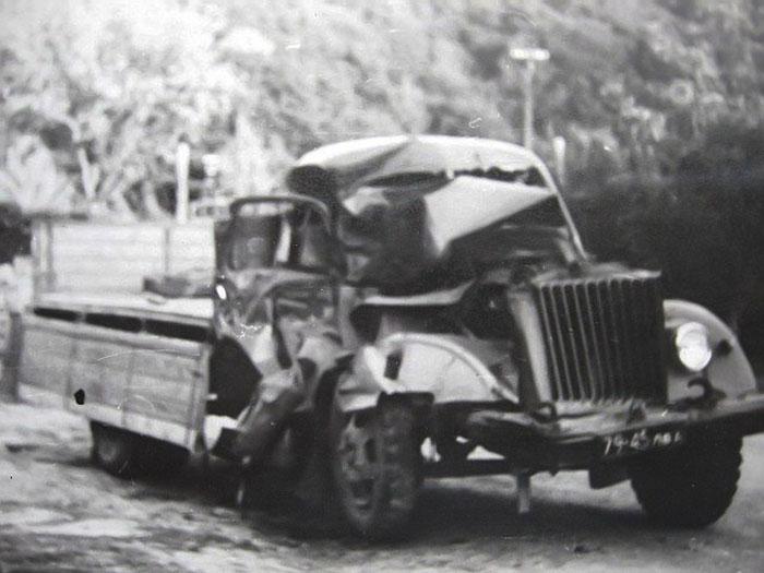 В кабіні цієї вантажівки трагічно загинув Василь Буць.