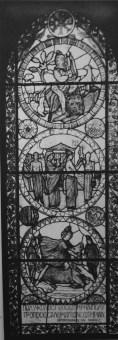 Вітраж «Містерія до поклоніння незнаного, але відчутного Бога», фот. Людвіка Вележинського, 1930 р.