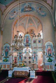 Внутрішній інтерєр церкви Успіння Пресвятої Богородиці в м. Дубляни