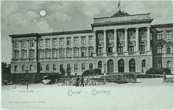 Вища політехнічна школа у Львові. Фото 1906 року невідомого фотографа