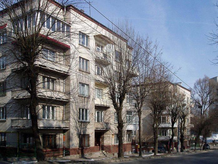 Житлові будинки Пенсійного закладу по вулиці Стрийській у Львові