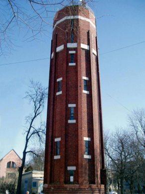 Водонапірна вежа по вул. Тернопільській уЛьвові
