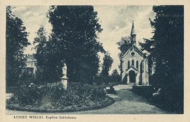 Курортна каплиця у Любіні Великому, 1925 р.