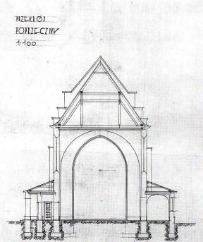 Проект парафіяльного костелу у Любіні Великому автосртва Лаврентія Дайчака, 1926-1929 рр.