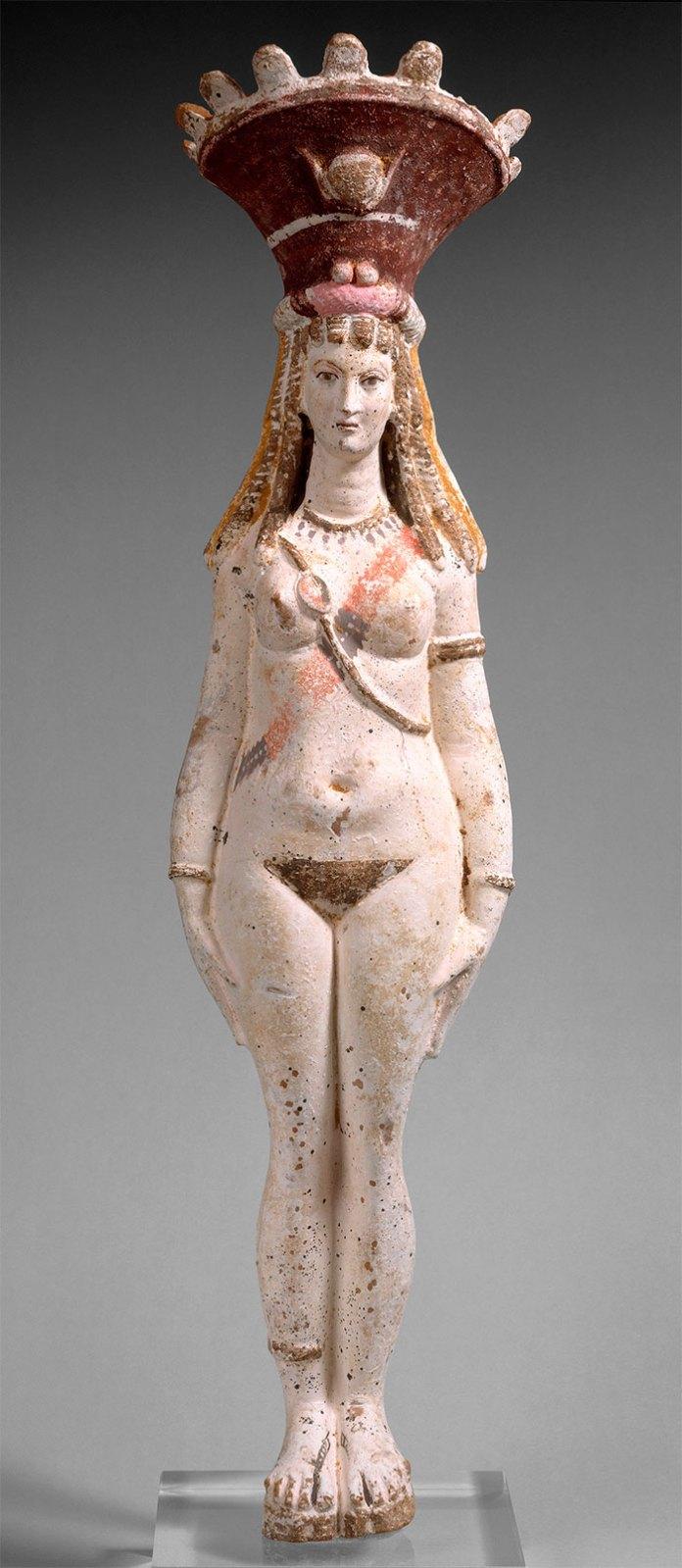 Богиня Ізіс/Афродіта. Єгипет, 3ст. Музей Метрополітен (Нью-Йорк)