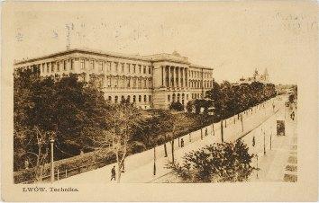 Головний корпус «Львівської політехніки». Фото 1937 року невідомого автора.