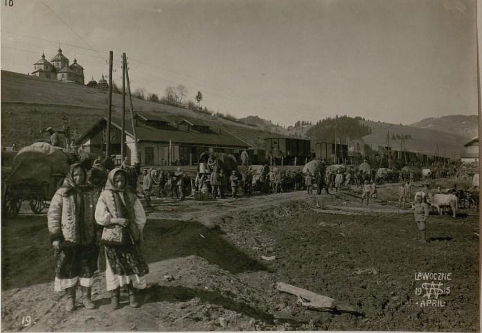 Німці в Лавочному. Галичина, початок XX століття