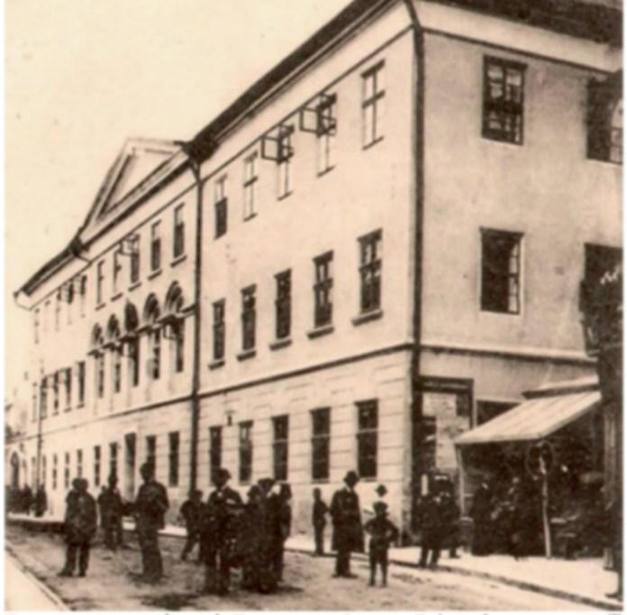Гімназія в Тернополі, де навчався Омелян Пріцак. Фото з http://tyzhden.ua/History/160877