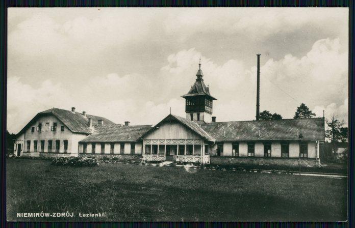 Немирів, купальні. Фото 1930 року