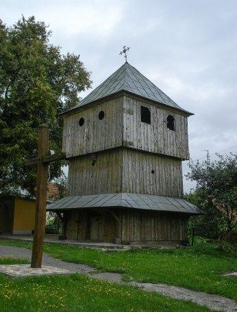 Дзвіниця церкви Св. Миколи в Любіні Великому, 2016 р.