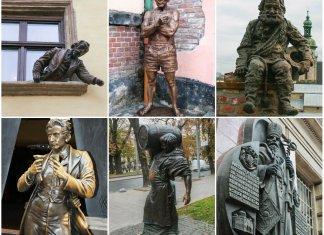 6 львівських скульптурних див Володимира Цісарика