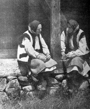 Лідія Оробець. Розмова, кін. 1930-х рр. (Світло й Тінь. – 1939. – Ч. 3)