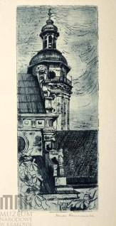 Ванда Коженьовська. Бернардинський костел, 1917 р.