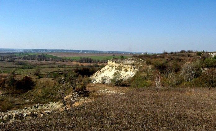 Вид на долину річки Щирка (Бережанка)