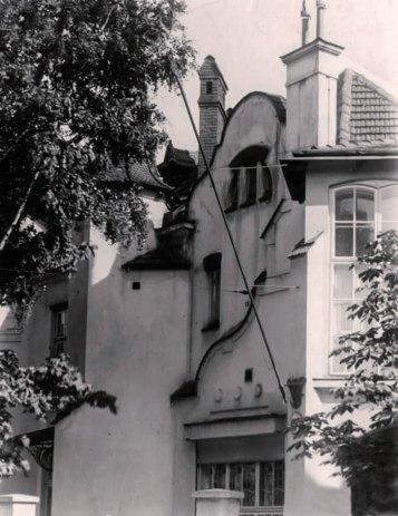 Вілла Розвадовського. Фото 1933 року невідомого автора