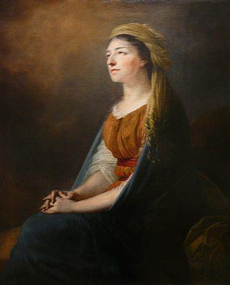 Анджей Грабовський, копія портрету Марії з Чарторийських