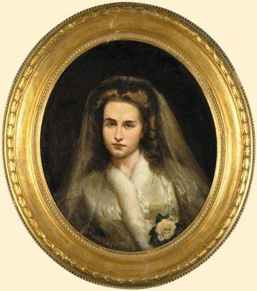 Анджей Грабовський, портрет Марії Нємчиновської, 1872 рік