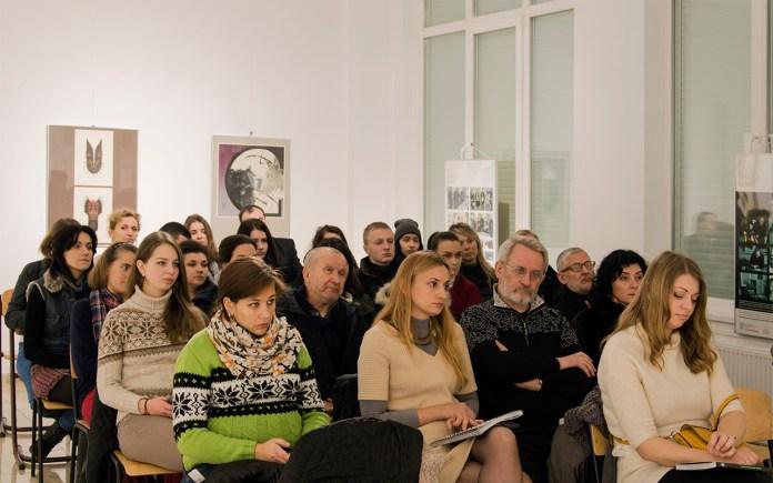 Гості презентації мистецького альманаху. Фото: Ксенія Янко