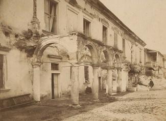 Руїни замку в Жовкві. Фото 1865 року