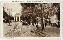 Східні Торги. Головна алея. Фото 1921 р.