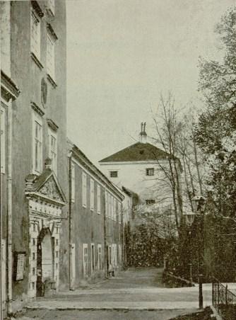 Жовківський замок. Фото 1903 року